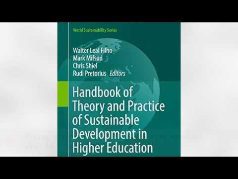 Izšel je priročnik Handbook of Theory and Practice of Sustainable Development in Higher Education