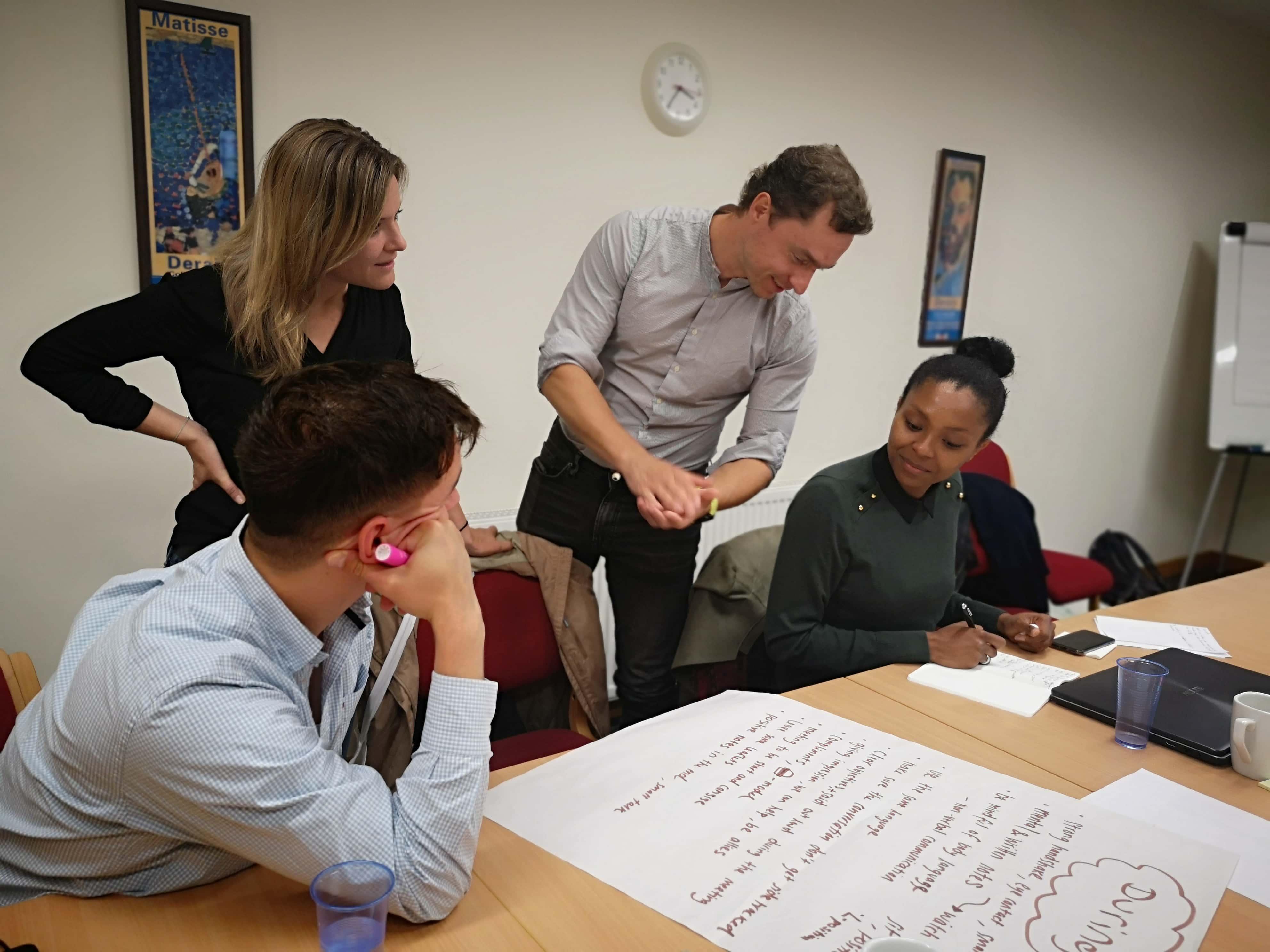 SLOGA z zagovorniki globalnega učenja na Škotskem