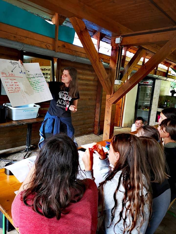 ADRA izvedla delavnice globalnega učenja v Nazarjah
