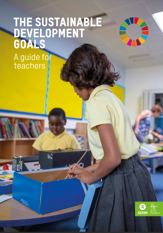 Oxfam: Priročnik za učitelje_ice o ciljih trajnostnega razvoja