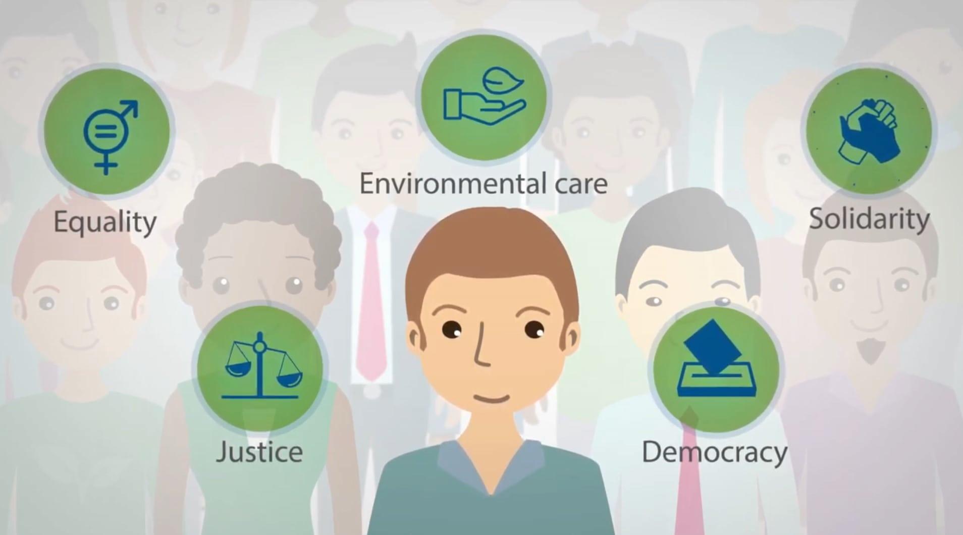 Center Sever Jug izdal nov video o globalnem učenju
