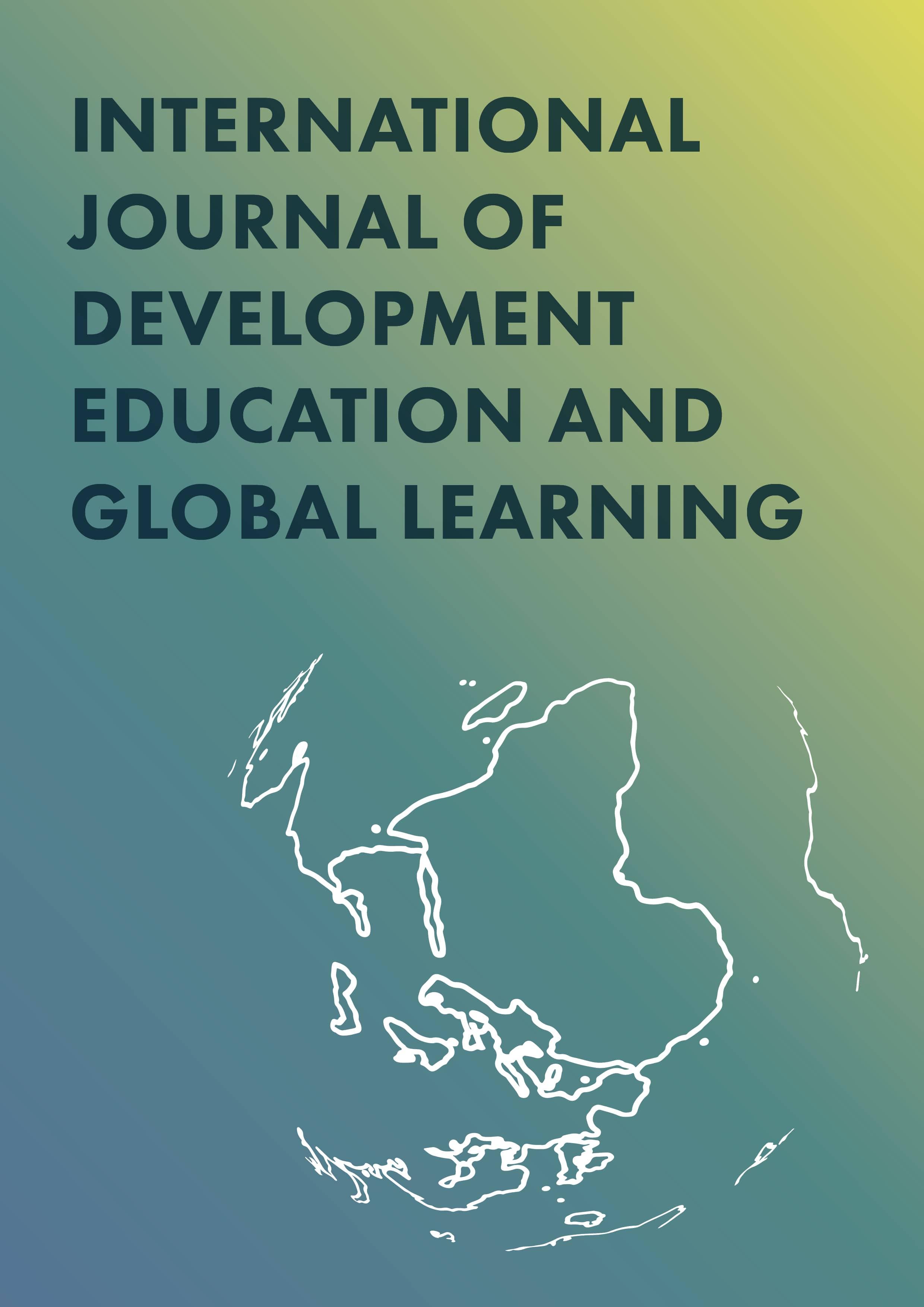 Poziv za prispevke za International Journal of Development Education and global learning
