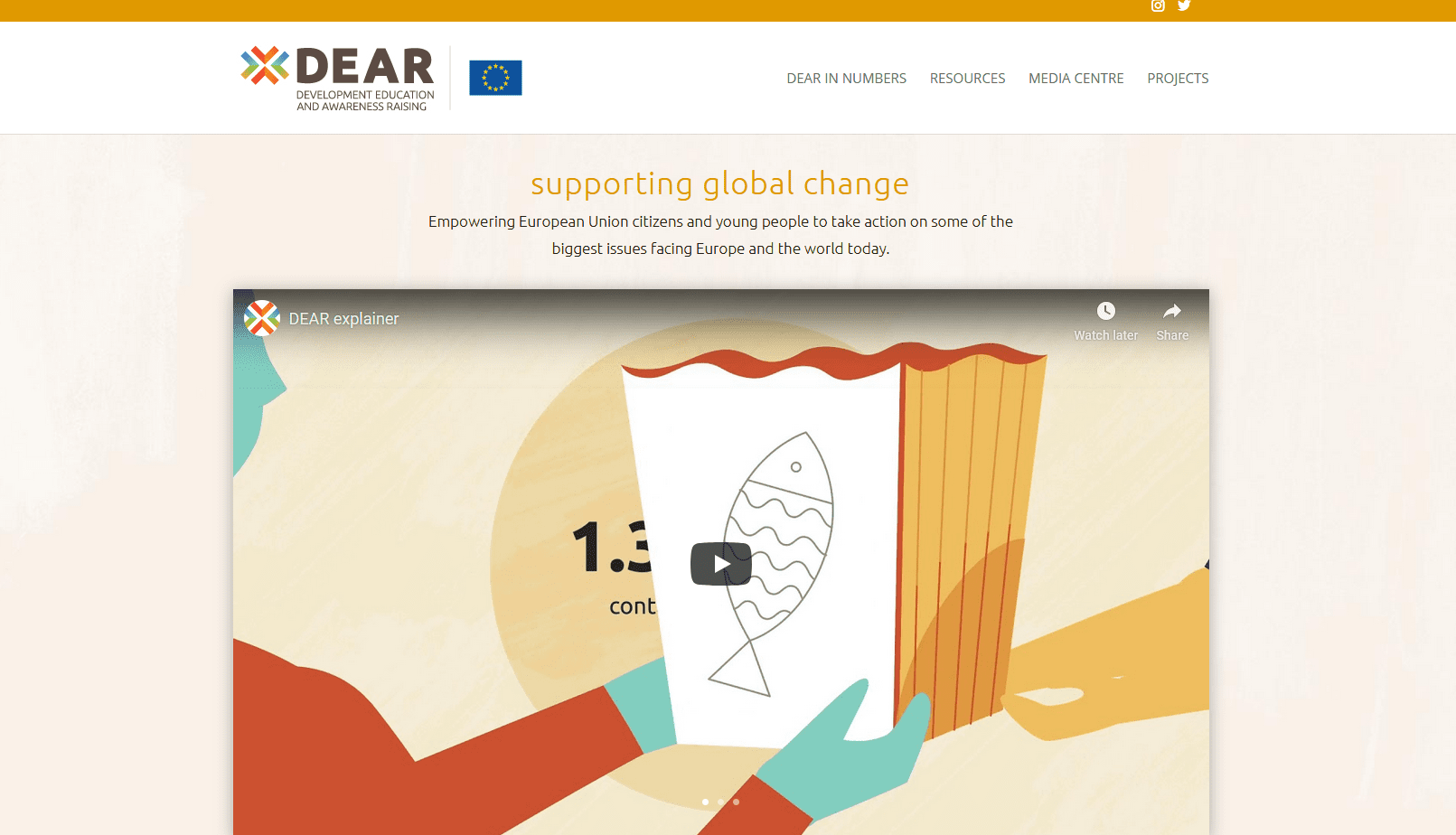 Program DEAR ima novo spletno stran!