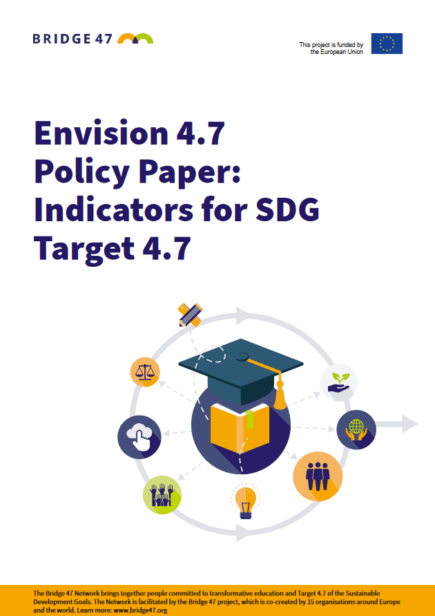 Dokument »Envision 4.7 Policy Paper: Indicators for SDG Target 4.7«