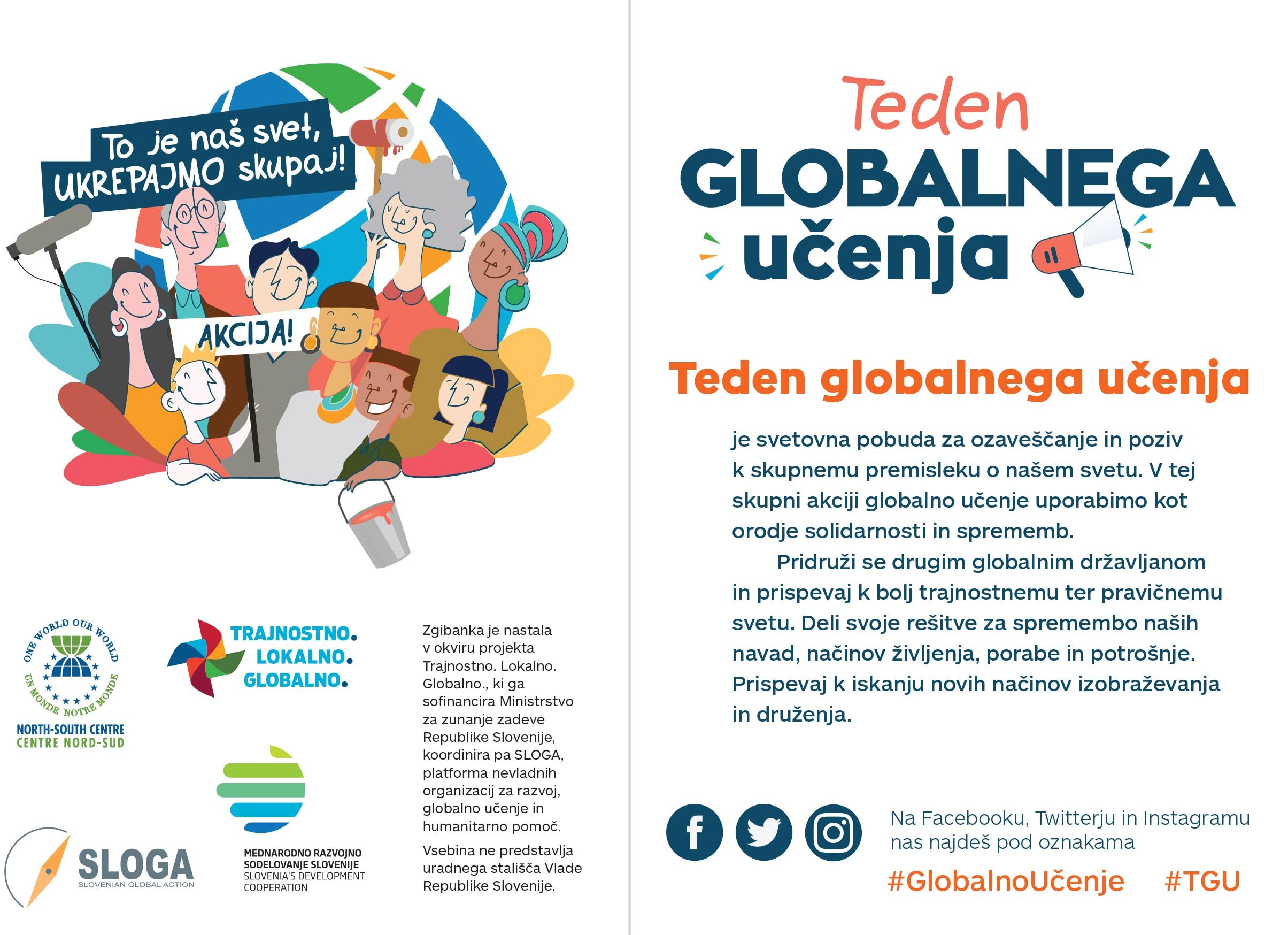 Izšel nov promocijski letak o Tednu globalnega učenja