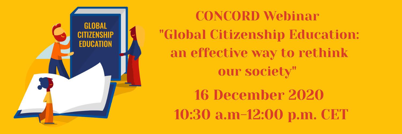 Posnetek spletnega seminarja Global Citizenship Education: an effective way to rethink our society