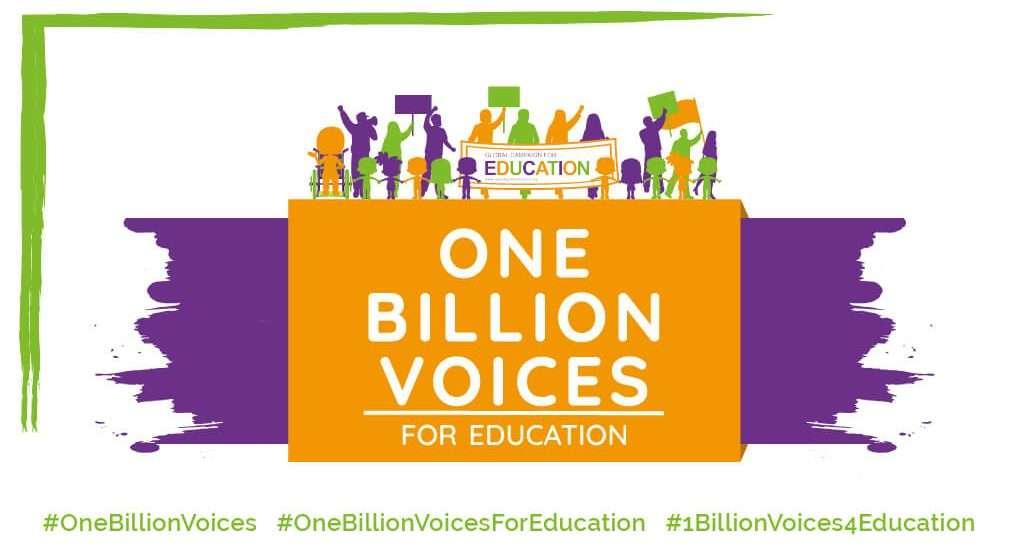 Milijarda glasov za vključujoče kakovostno izobraževanje za vse