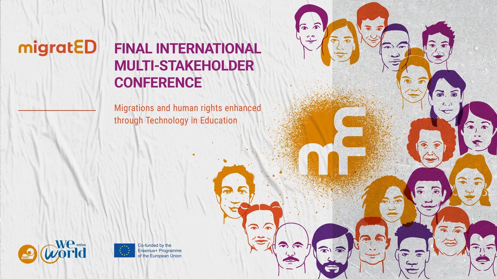 Zaključna mednarodna konferenca projekta #MigratED