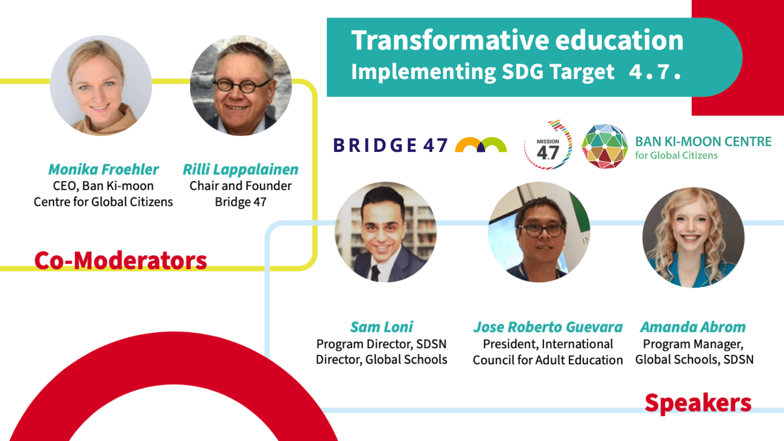 globalno učenje SLOGA Bridge 47 transformative education Global Citizenship Education Imagine 4.7
