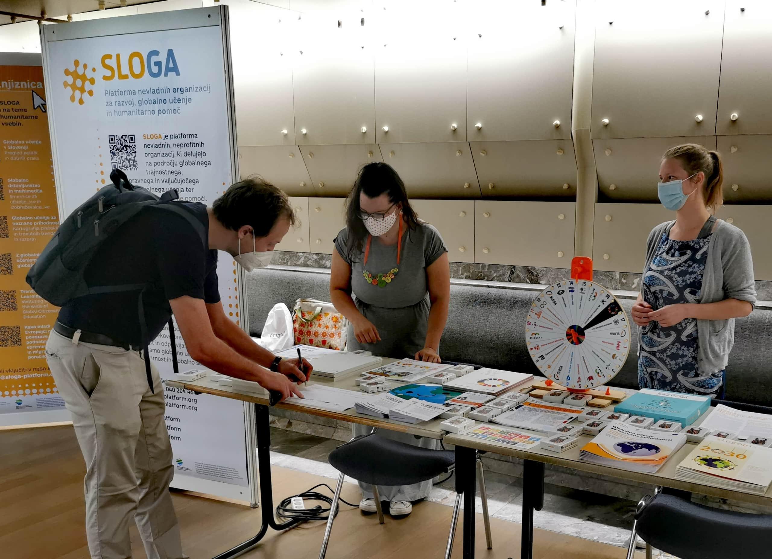 Platforma SLOGA tudi letos sodelovala na Kulturnem bazarju