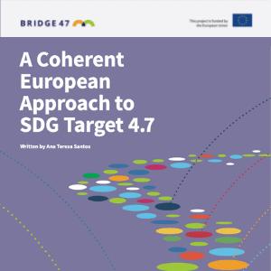 Skladen evropski pristop k cilju SDG 4.7