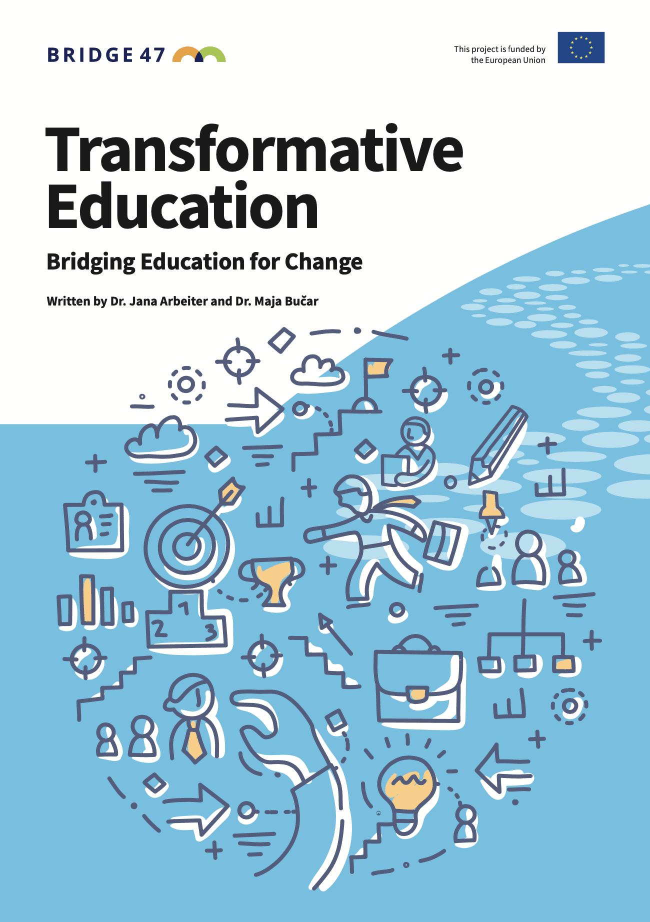 O transformativnem učenju v novi publikaciji Bridge 47
