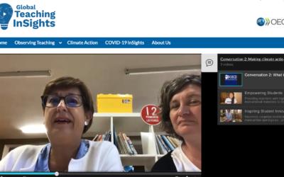 Pogovori o poučevanju za podnebne ukrepe