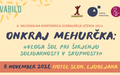 Nacionalna konferenca globalnega učenja bo 9. novembra